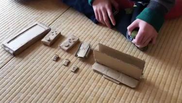 Çocuk Masumiyeti: Annesi Nintendo Switch Almayınca Aynısını Kartondan Yaptı!